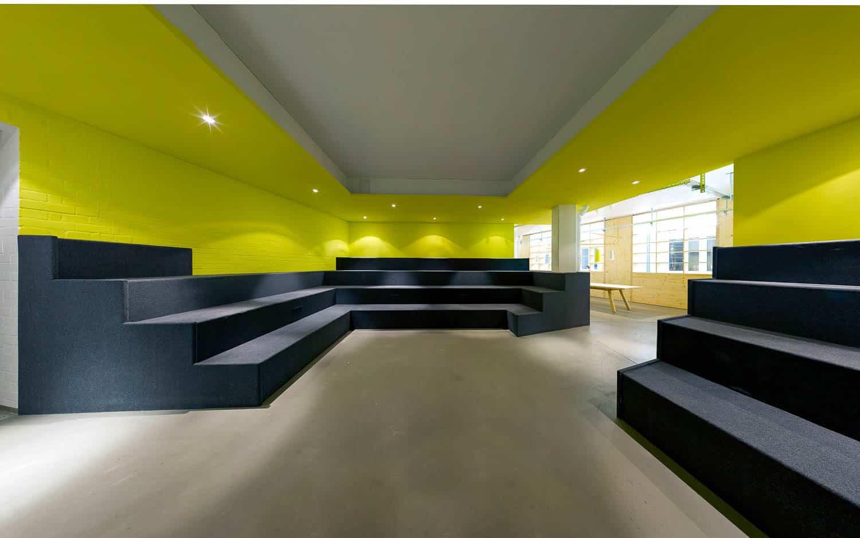 muesiemue Interiordesign, Coworking Office, Funktion und Design von handwerkplusdesign und Tonia Welter für betahaus in Berlin