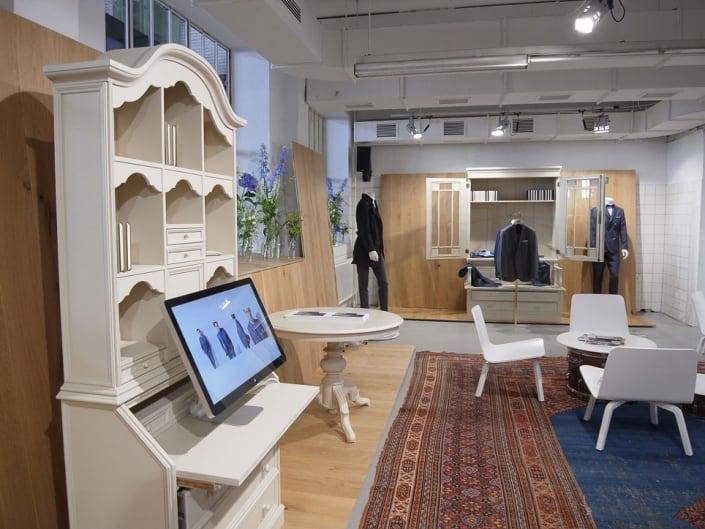 muesiemue Interiordesign, Event Design, Produktdesign und Messebau, Funktion und Design von handwerkplusdesign und Thies Wulf für Eduard Dressler