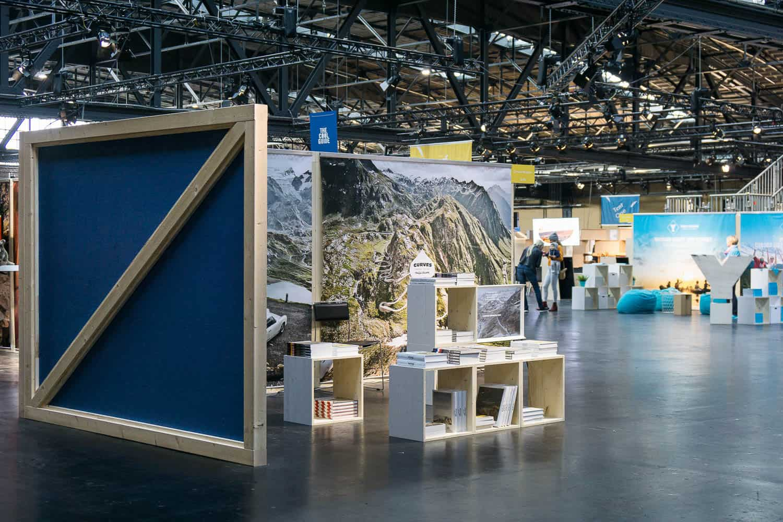 muesiemue Interiordesign, Event Design und Messebau, Funktion und Design von handwerkplusdesign und Thies Wulf für Berlin Travel Festival