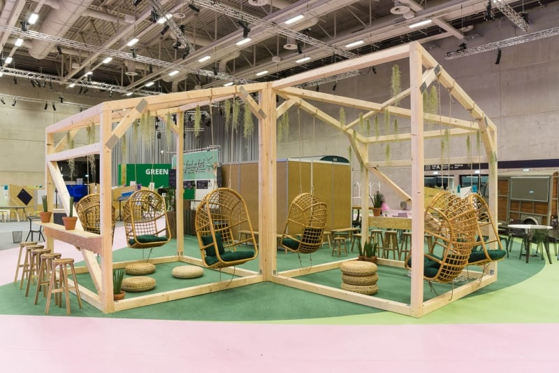 muesiemue Interiordesign, Event Design und Messebau, Funktion und Design von handwerkplusdesign und Tonia Welter für Cube-Global