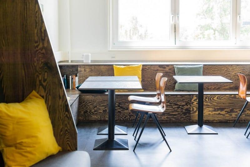 muesiemue Interiordesign, Sitzlandschaft und Esstische, Funktion und Design von handwerkplusdesign für ioo Architekten