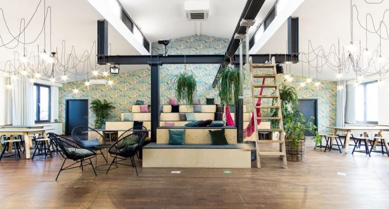 muesiemue Interiordesign, Funktion und Design von handwerkplusdesign und Thies Wulf für flaconi Headquarter