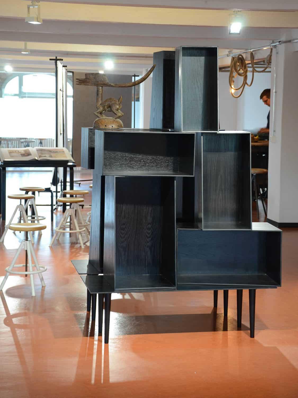 muesiemue Interiordesign, Office und Inszenierung, Funktion und Design von handwerkplusdesign und Thies Wulf für Design Hotels AG