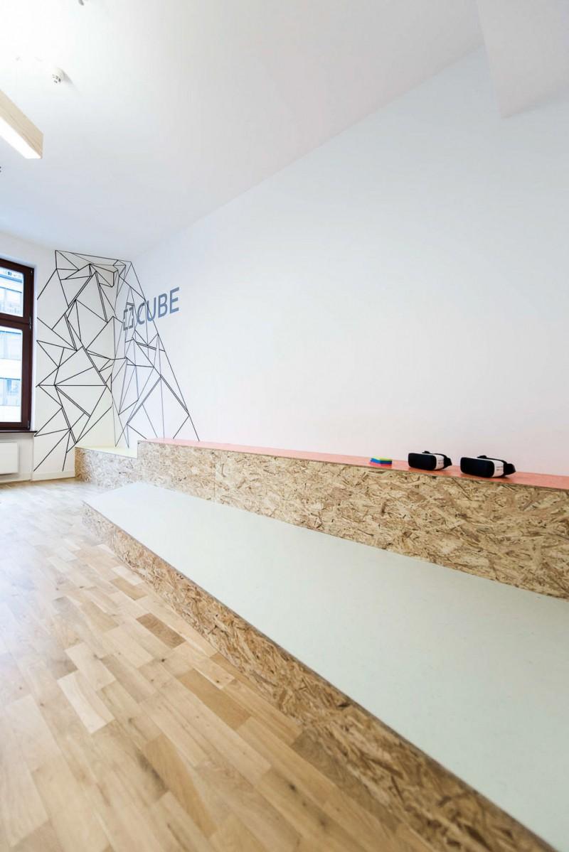 muesiemue Interiordesign, Coworking Office, Funktion und Design von handwerkplusdesign und Tonia Welter für Cube-Global