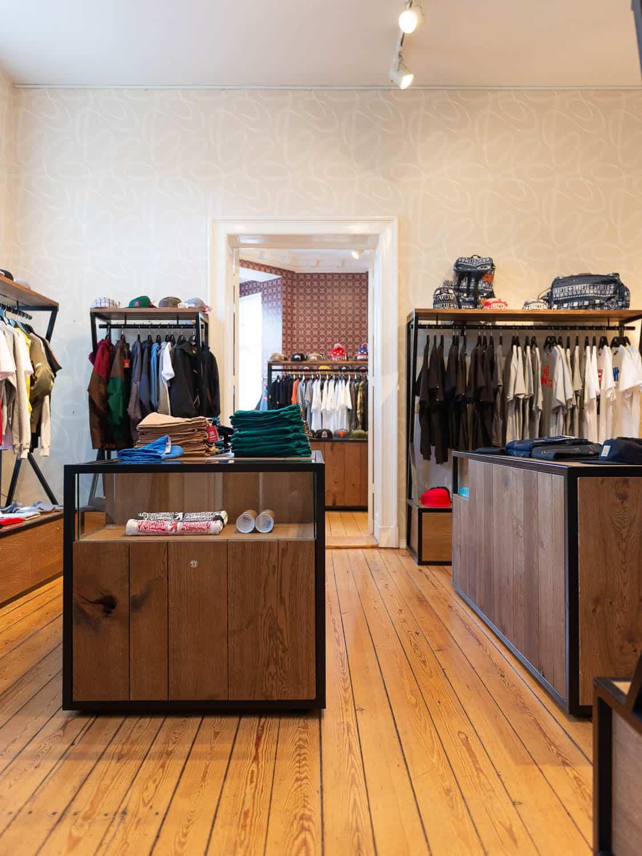 muesiemue Interiordesign, Showroom und Ladenbau, Funktion und Design von handwerkplusdesign für overkill store Berlin