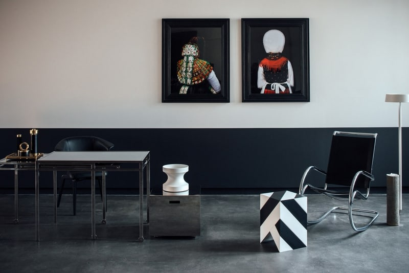 Showroom und Apartment Interiordesign von Chris Glass für aptm berlin »deutsch«