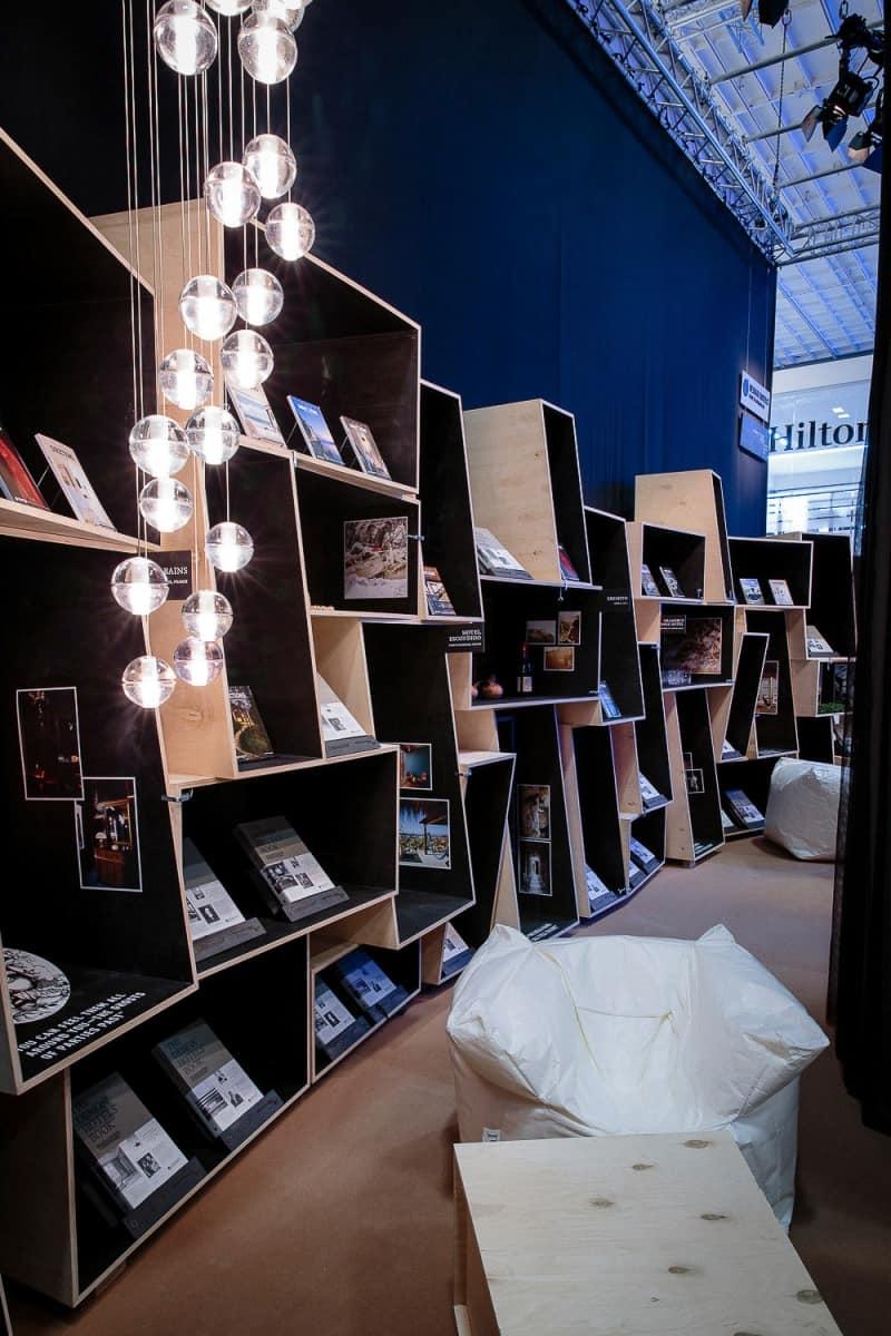 Produktdesign, Messe und Event von Thies Wulf fuer Design Hotels AG auf der ITB 2016