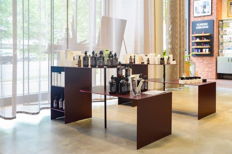 muesiemue Produktpräsentation und Ladenbau von Ties Wulf fuer flaconi store