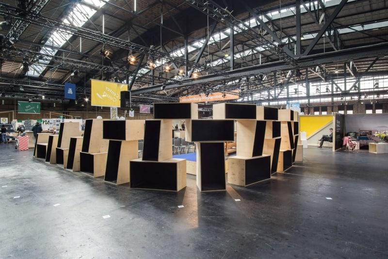 muesiemue Interiordesign, Event Design und Messebau, Raum in Raum Situation, Funktion und Design von handwerkplusdesign und Thies Wulf für Berlin Travel Festival