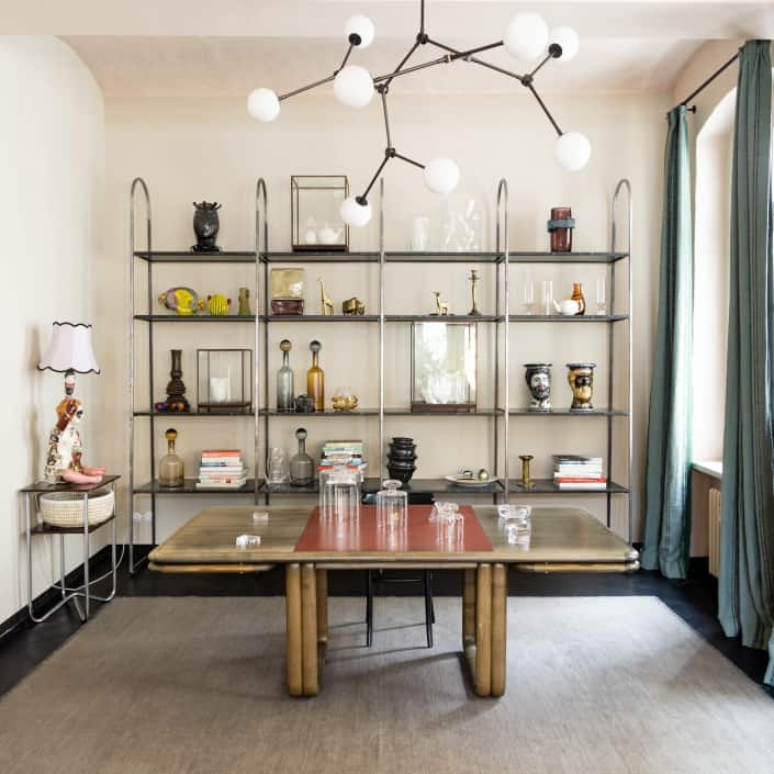 Showroom und Apartment Interiordesign von Chris Glass für aptm berlin muesiemue