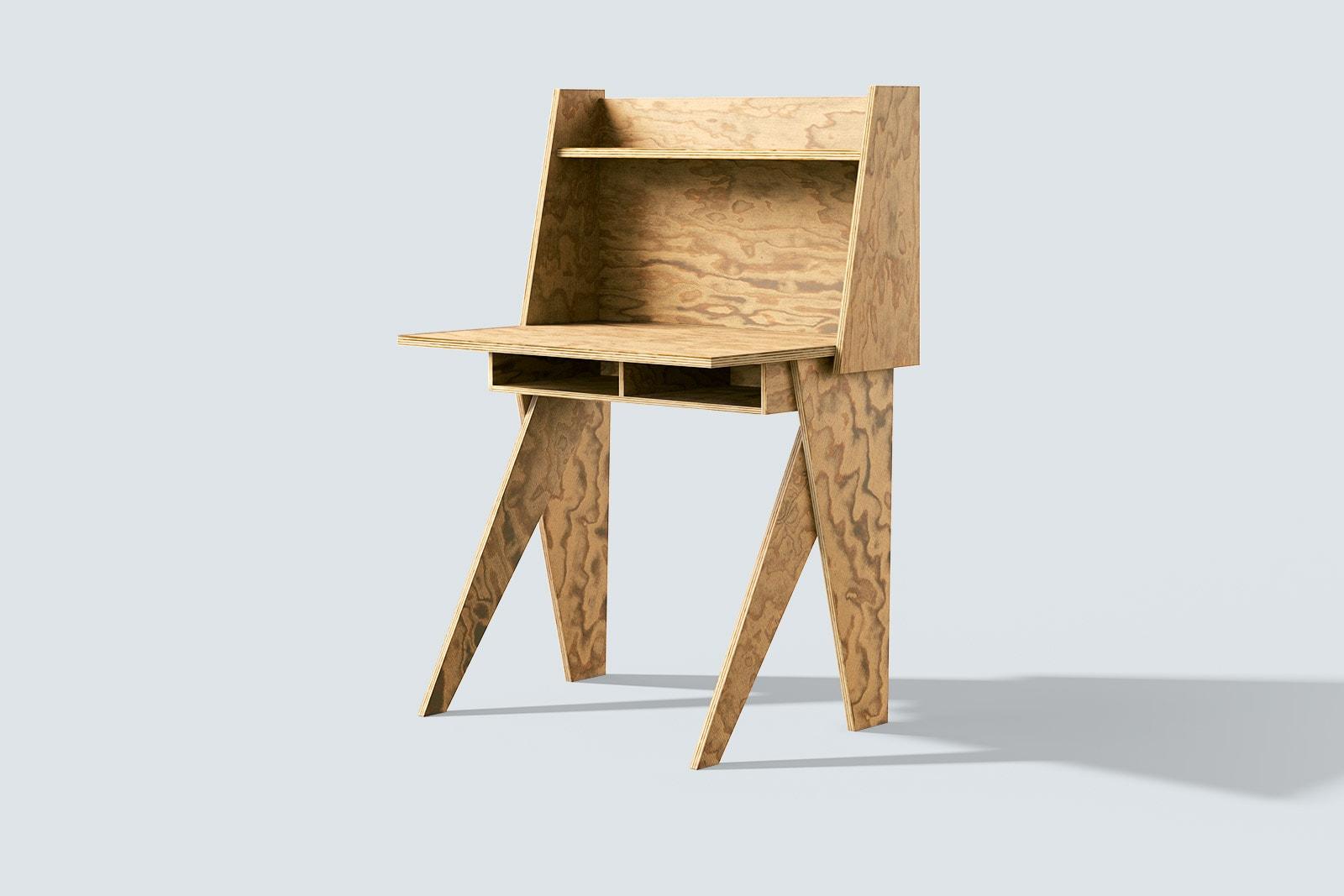 muesiemue Interiordesign, eleganter und kompakter Home Office Tisch von Tonia Welter